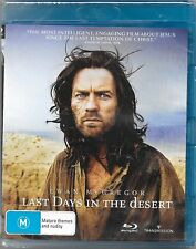 Last Days In The Desert (Blu-ray, 2017) New (Ewan McGregor) Region B Free Post