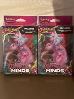 Pokemon Sun And Moon Unified Minds Hanger Boxes, Lot of 2, 6 Total Booster Packs