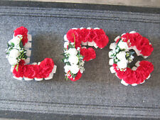 LFC Liverpool Football Club Artificial Funeral Tribute Silk Flowers 3ft Long