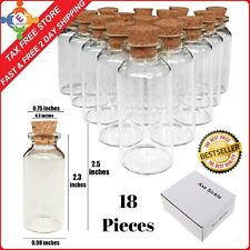 Mini Glass Jars Small Honey Container Baby Food Clear Storage Kitchen Pack Of 18