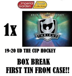 SINGLE * 19-20 * UD THE CUP HOCKEY Box Break #2867- St Louis Blues