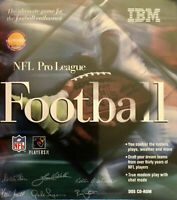 NFL PRO LEAGUE FOOTBALL 1995 IBM +1Clk Windows 10 8 7 Vista XP Install