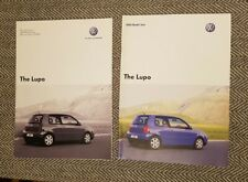 VW Lupo Brochure and price list Inc Gti 2005