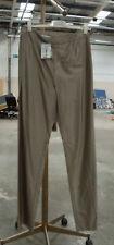 Cerruti 1884 BNWT Divine Metallic Silver Trousers Acetate & Silk Blend UK 12 FAB