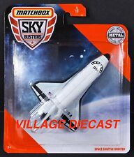 2020 Matchbox Sky Busters® #4 Space Shuttle Orbiter WHITE / NASA USA / MOC