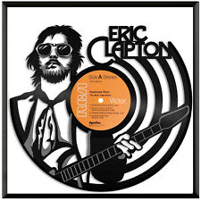 Eric Clapton Vinyl Music Wall Art Record Gift Home Office Room Decoration Framed