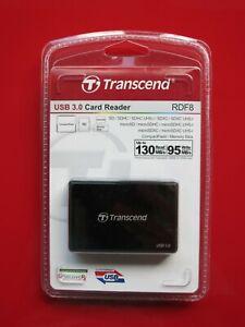 Transcend TS-RDF8K Multi Speicherkartenleser USB 3.0 Serie | NEU inkl. OVP