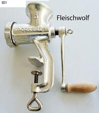 Fleischwolf Zerkleiner Manuel Drehwolf Porkert 5 gebraucht