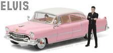 Greenlight 1/43 1955 Cadillac Fleetwood Series 60 w/ Elvis Presley Figure 86436