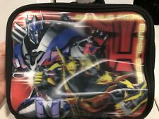 Transformers Optimus Prime And Bumble Bee Lunch Box 3D Effects Children's Lunch
