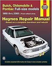 Haynes Oldsmobile Delta 88 Royale Brougham 85-05 propriétaires Service Manual Manuel