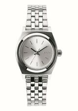 Nixon Small Time Teller All Silver Stainless Steel A3991920 Women's Watch