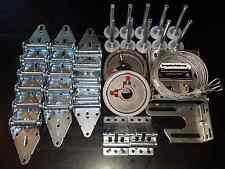 Garage Door Hardware Complete Kit - Heavy Duty 11 GA - 16x8 or 18x8