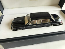 Rolls Royce Silver Seraph Park Ward Limousine black, resin 1:43 L.E. #602