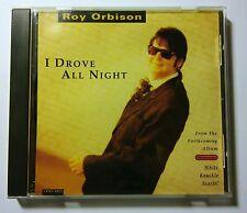 MEGA RARE - ROY ORBISON - I DROVE ALL NIGHT 1991 MCA PROMO CD NINTENDO MCA