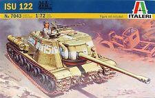 Italeri 1/72 ISU 122 Soviet Anti Tank Model Kit 7043