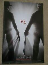 Freddy Vs. Jason Original 2003 Advanced Movie Poster