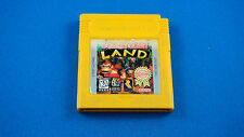 NINTENDO GAMEBOY DONKEY KONG LAND Yellow Cartridge (Game Boy, 1995) DMG-YT-USA-1