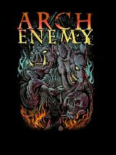 ARCH ENEMY cd lgo War Eternal PIG AND RAT Official 2015 TOUR SHIRT SMALL New OOP