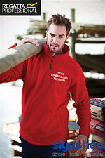 Custom Embroidered Fleece Jumper Personalised with your Text Regatta RG120