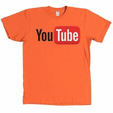YouTube Logo T Shirt Internet Video You Tube Tee MANY COLORS - NEW WITH TAGS
