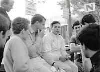 JIM CLARK LOTUS DRIVER PHOTOGRAPH FOTO MONACO GRAND PRIX 1966 GP F1 1