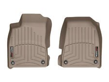WeatherTech FloorLiner Mats for Audi A4/S4/RS4 - 2002-2008 - 1st Row - Tan