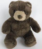 """Build-A-Bear Workshop Stuffed Animal 10"""" Sitting Classic Plush Teddy Bear Brown"""
