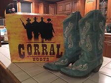 Women's Corral Cowboy Boots Size 9.5