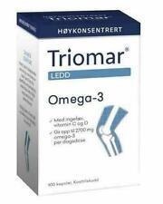 Norvégien Triomar Genou Epa Dha 100pcs Capsules Oméga 3 Gingembre Vitamine D C