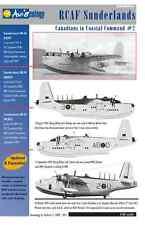 RCAF Sunderlands of 422/423 Sqns – CinCC2 – 1/48 scale Aviaeology Decals 'n Docs