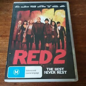 Red 2 Bruce Willis DVD R4 Like New! FREE POST