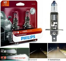 Philips X-Treme Vision H1 55W Two Bulbs Head Light High Beam Plug Play Lamp OE