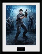 Impresión de coleccionista de pistola de Resident Evil Leon