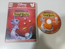 MONSTRUOS S.A. PINBALL BESTIAL DISNEY PIXAR JUEGO PARA PC CD-ROM EDIC ESPAÑA