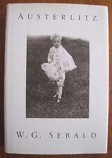 W.G. Sebald Austerlitz First 1st Edition HCDJ 2001 National Book Award