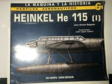 HEINKEL HE 115 PERFILES AERONAUTICOS BRAND NEW