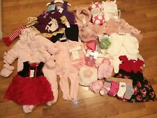 Nwt Lot of Girls 0-6mos, 6-9 mos, 9-12 mos Clothes Childrens Place, Rare Edition