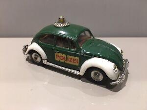 Corgi Toys Vintage Die Cast 492 Volkswagen 1200 Saloon Polizei