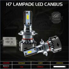 2x Lampade H7 Led 6000K 72W Bianco 8400Lm Anabbaglianti Per Fiat Croma 2005-2007
