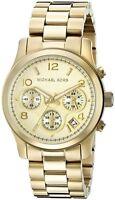 Michael Kors MK5055 Gold Runway Ladies Chronograph Watch
