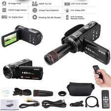 "ORDRO HDV-Z8 1080P HD 16X 3.0""LCD Digital Video Camera DVR Recorder F3D6"