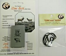 COW TALK ELK CALL & REPLACEMENT BANDS 1 cow call, 1 pkg bands combo