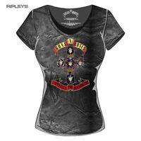 Official Skinny Guns n Roses ACID Wash 'Appetite for Destruction' All Sizes