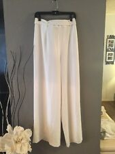 NWOT Finders Keepers High Waisted White Wide Leg Pants Sz M