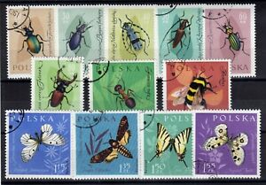 Poland: Complete Set Of 12 Stamps Mint N°1140/1151 Value