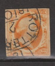 NVPH Nederland nr 3a CANCEL ROTTERDAM (b-2) 1852 1e emissie Willem III