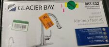 Glacier Bay Single-Handle Pull-Down Sprayer Kitchen Faucet in Stainless Used