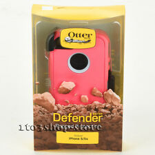 OtterBox Defender iPhone 5 iPhone 5s iPhone SE Case w/Belt Clip Pink Gray Used