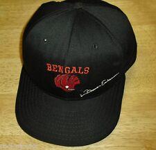 Boomer Esiason Cincinnati Bengals Vintage 90s Original Snapback hat Made by AJD